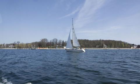 Gedenkfahrt zur Untergangsstelle mit der deutschen Marine